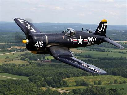 Corsair Vought Chance Wallpapers F4u 4u Aviation