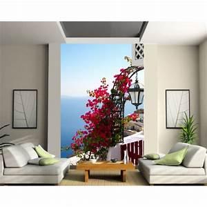 Papier Peint Geant : papier peint g ant fleurs mer art d co stickers ~ Premium-room.com Idées de Décoration