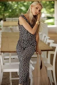 Combinaison Femme Noir Et Blanc : 1001 exemples parfaits de combinaison pantalon femme chic ~ Melissatoandfro.com Idées de Décoration