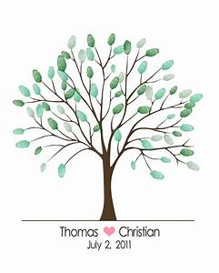 baby shower thumbprint tree template wedding tree With baby shower thumbprint tree template