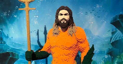 brickfinder life sized lego aquaman  tame  seas