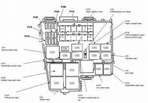 Service Manual  Electrical Relays Schematic 2000 Lincoln