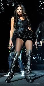 Fergie In Black Eyed Peas In Concert At Mandalay Bay Zimbio