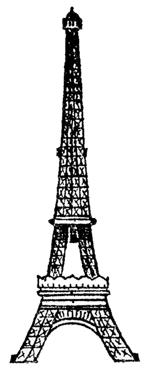 eiffel tower picture vintage  drawing  graphics