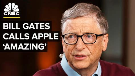 Bill Gates: Apple Is An 'Amazing' Company | CNBC - YouTube