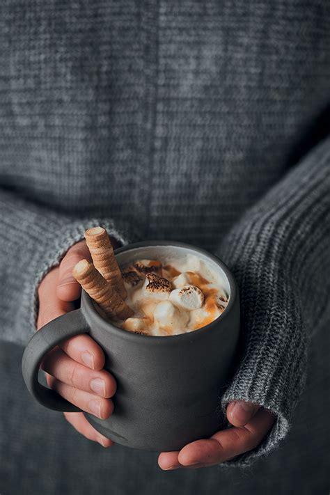 home  white hot chocolate  caramel  toasted