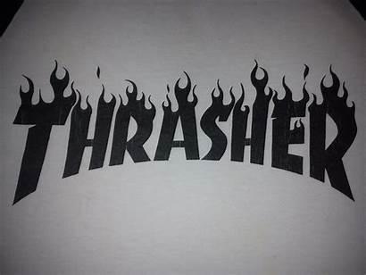 Thrasher Magazine Wallpapers Desktop Logos Shirt Background