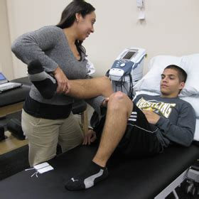 physical therapy added  health center university