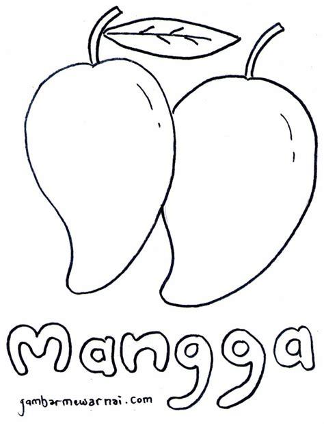 gambar mewarnai gambar contoh buah tk di rebanas