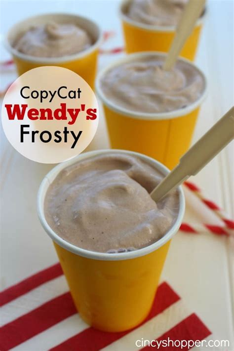 Copycat Wendy's Frosty Recipe Perfect For Spring And