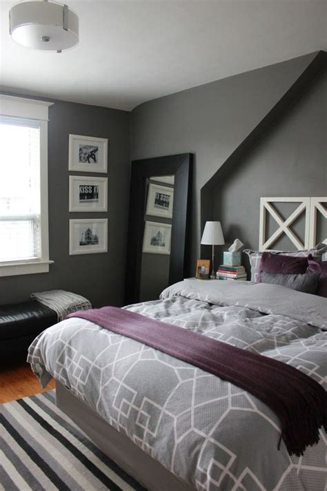 gray  purple undertones room images  pinterest