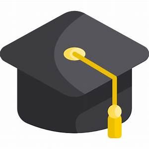 Graduation hat - Free education icons