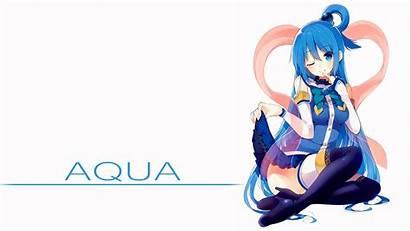 Aqua Konosuba Kono Subarashii Sekai Shukufuku Ni