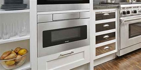"""SHARP SMD3070AS Y 30"""" Microwave Drawer Oven: 30"""" Ovens"""