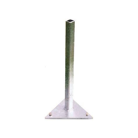 support triangulaire 224 fixer au sol pour parasol paraflex
