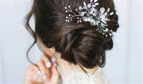 wunderschoene hochzeit hochsteckfrisuren fuer kurzes haar