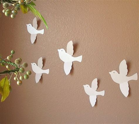 Wand Tapezieren Ideen by Attractive Handmade Wall Design For Decoration Ideas