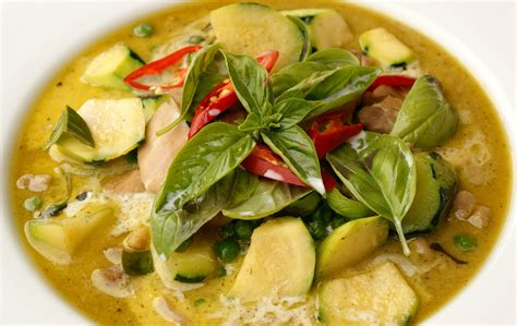 curry cuisine recipes easy food green curry chicken kaeng keaw