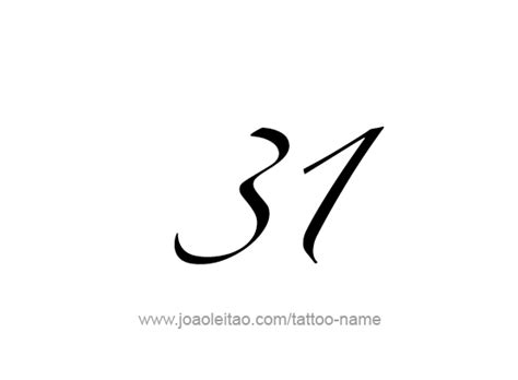 tattoo design numbers  png