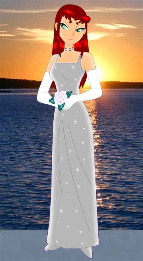supreme dress starfire 39 s wedding dress by supremechaos918 on deviantart