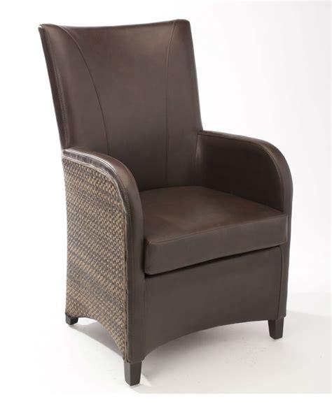 fauteuil de salle 224 manger en cuir synth 233 tique brin d ouest