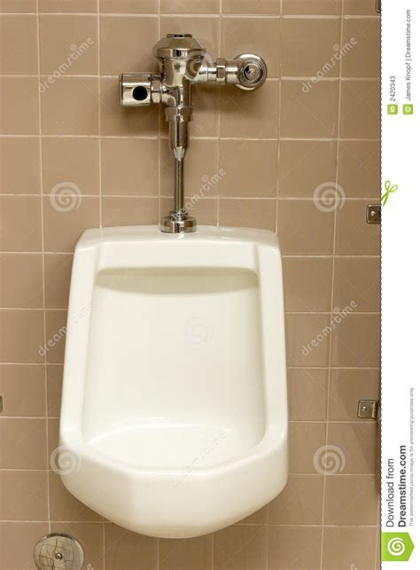 Public Restroom Urinal Stock Photos  Image 2420343