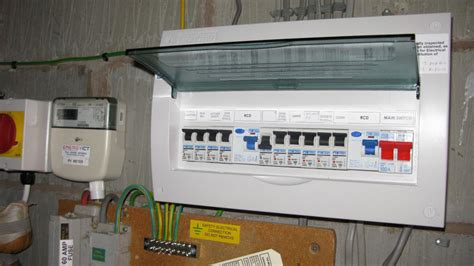 installing a consumer unit on wiring a consumer unit to uk specifications diy
