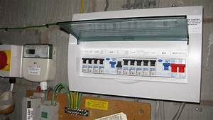 Garage Consumer Unit Wiring Diagram