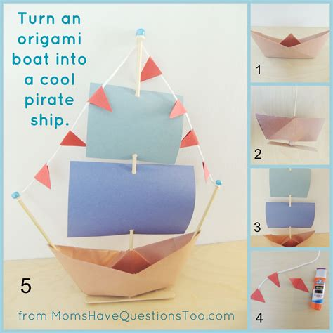 Origami Boat Written Instructions by Clear Picture Tutorial And Written Directions For Folding