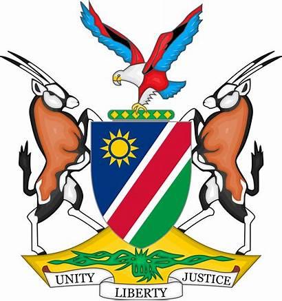 Namibia Arms Coat Wikipedia Svg Wiki Wikimedia