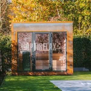 Saunahaus Im Garten : saunahaus f r den garten von optirelax ~ Sanjose-hotels-ca.com Haus und Dekorationen