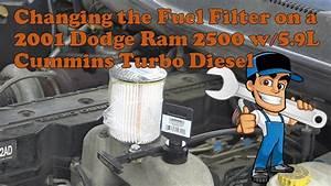 2001 Dodge Ram 2500 With The Cummins 5 9l Turbo Diesel
