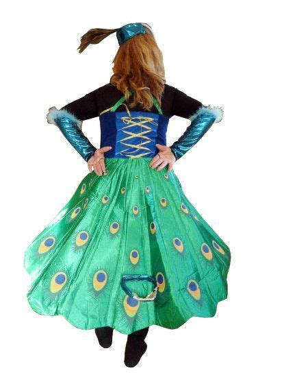To53 Pfau Kostüm Pfauen Kostüme Pfauenkostüm Fasching