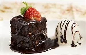 brownie, dessert, food, ice cream, yummy - image #83886 on ...