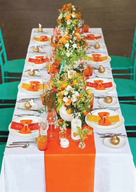 yellow and orange wedding decorations your wedding in colors yellow and orange arabia weddings