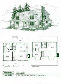 cabin floorplan log home package kits log cabin kits cimarron model