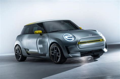 mini unveils concept   full production electric car