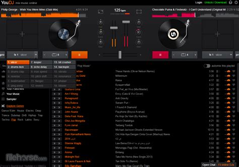 youdj  ultimate  dj mixer   web browser