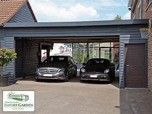 Carport en bois 1 voiture for Nice abri de jardin bois pas cher leroy merlin 2 carport 3 voitures bois
