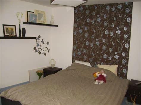 papier peint intissé chambre adulte chambre emilie3004 avant photo 1 4 tete de lit en
