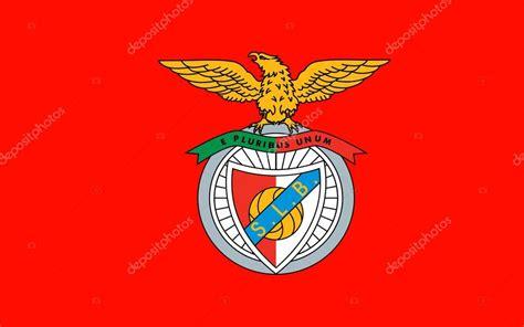 Bandeira de clube de Futebol Benfica, Portugal ...