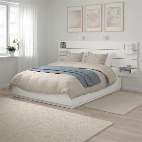 Ikea Nordli Bett by Nordli Bed With Headboard And Storage White Ikea