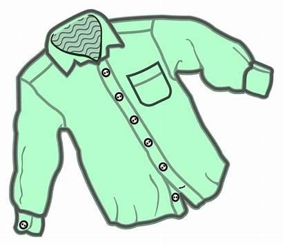 Shirt Clipart Coloured Blouse Clothing Jacket Hemd