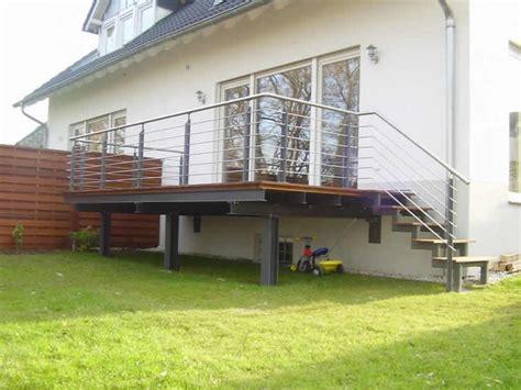 Terrasse Nachträglich Anbauen by Terassen Schlosserei Rodenbach De