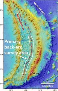 Mariana  The Tectonic Neighborhood - Geospace