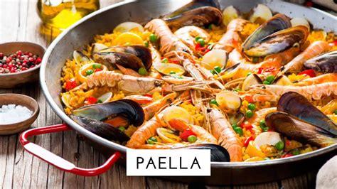 cuisine 750g repas espagnol paella