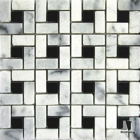 black and white marble mosaic floor tile buy black and