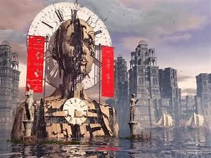 Lost, Time, 1023, X, 768pix, Wallpaper, Surreal, Art, 3d, Digital, Art