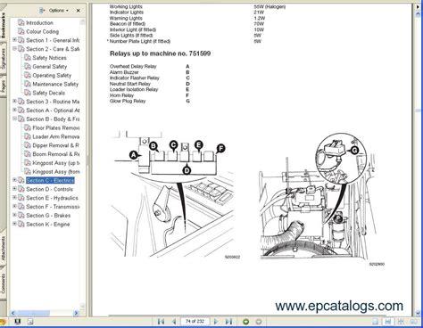 Jcb 506c Wiring Diagram For Forklift by Jcb Excavators Service Manuals S3