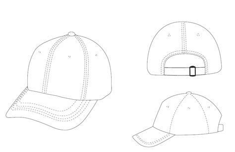Hat Template Design Template Recycled Hats Fairware